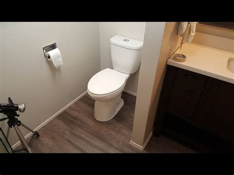 Laminate Floor under Toilet. ??? ??????? ??? ????????