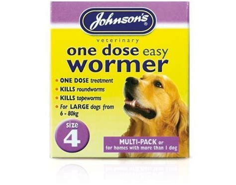 dog worming tablets ebay