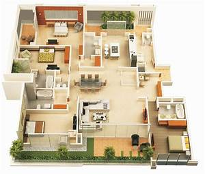 Beautiful 4 bedroom house plans luxamccorg for Beautiful 4 bedroom house plans
