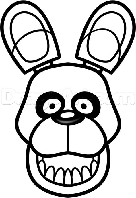 Bonnie Bunny Free Colouring Pages