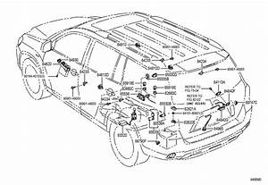 2005 Toyota Highlander Parts Diagram