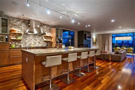 cuisine ouverte ilot la cuisine avec ilot cuisine bien structurée et