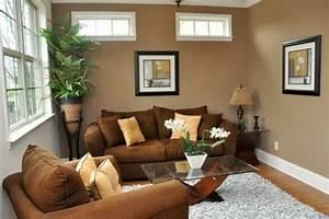 Wohnzimmer Mit Brauner Couch : wandfarben braunt ne setzen sie auf eine universale farbe ~ Markanthonyermac.com Haus und Dekorationen
