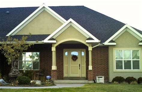stucco home color scheme bing images houses and homes