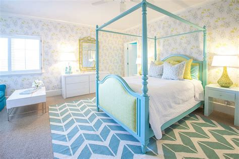 Kids' Bedrooms Showcasing Stylish Chevron Pattern