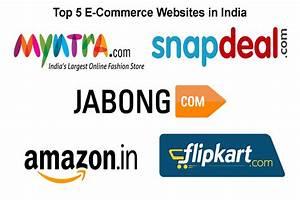 Top Five E-Commerce Websites in India