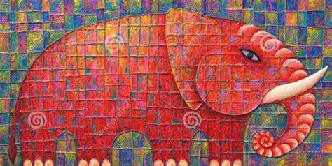 elephant paintings  premium templates