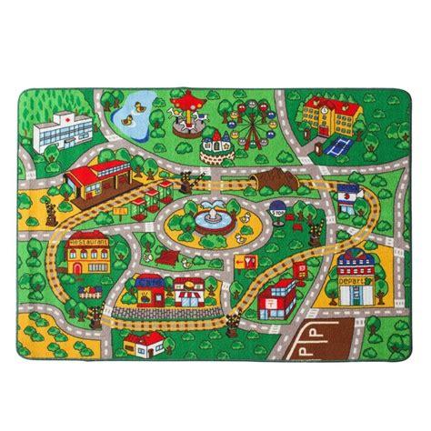 tappeto da gioco per bambini bambini tappeto mappa con la strada zona tappeto