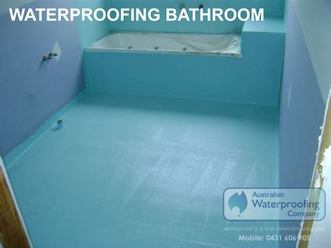 bathroom waterproofing in melbourne