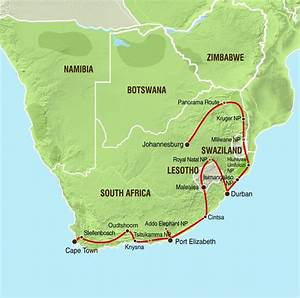 overcross gruppenreise sudafrika sudafrika explorer With katzennetz balkon mit garden route safari tour
