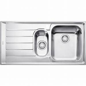 Nex 651 Lhd  Rhd Neptune 1  U0026 1  2 Bowl Sink W   Drainer