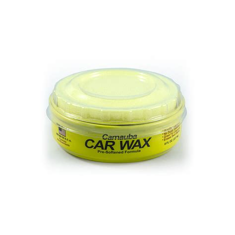 The Treatment - Carnauba Paste Wax Can