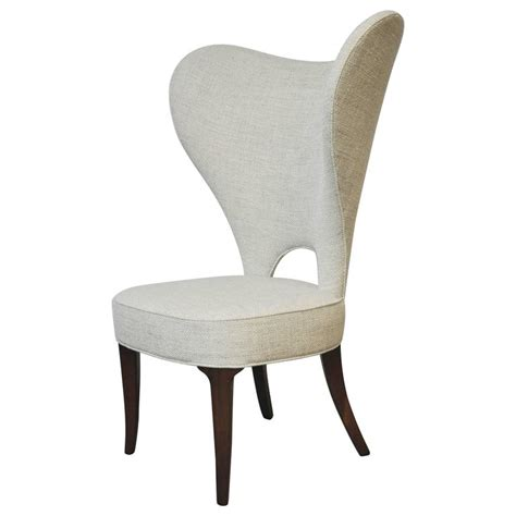 edward wormley quot chair quot wingback for dunbar at 1stdibs