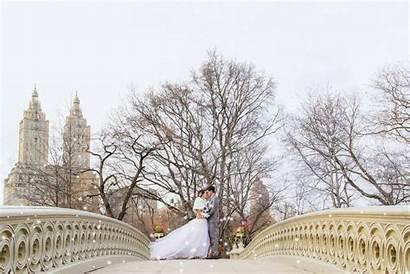 Central Winter Park Nyc York Snow Weddings