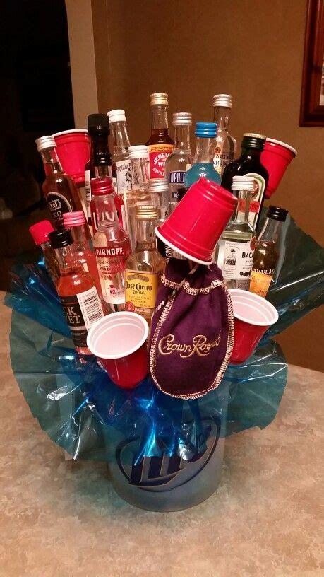 The 25 Best Alcohol Bouquet Ideas On Pinterest Mini Alcohol Bouquet