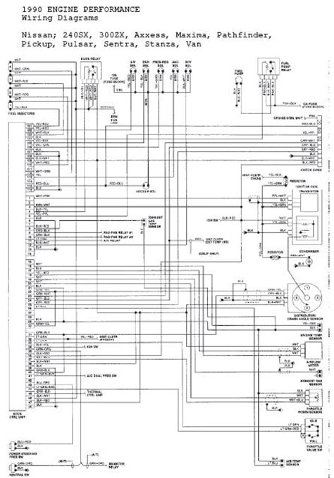 1993 Sx 240 Wiring Diagram by Wire Diagram 1992 Nissan Hardbody Wiring Diagram Database