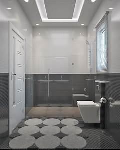 modele de construction traditionnelle de 90m2 de plain With constructeur salle de bain