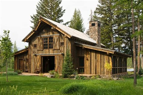 Imaginative Pole Barn House With Metal Roof Lawn