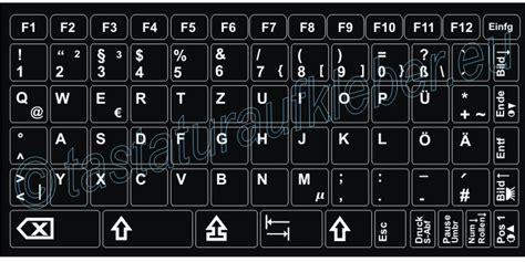 tastaturaufkleber deutsch qwertz weisse schrift