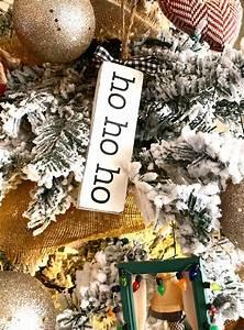 farmhouse, christmas, word, ornaments