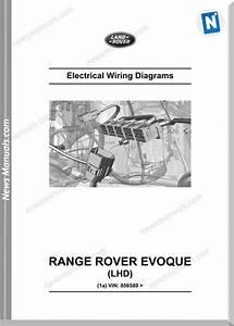 Land Rover Ranger Rover Evoque L538 2014 Wiring Diagram