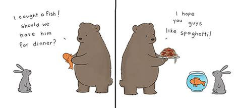funny everyday lives  animals  simpsons illustrator