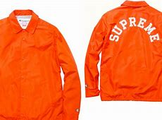Supreme x Champion Custom Coaches Jacket Highsnobiety