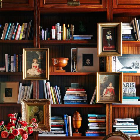 stylish ideas  arranging  organizing bookcases