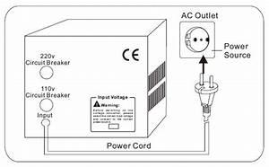 3000 Watt Voltage Converter Transformer  110v To 220v