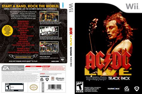 acdc  rock band track pack