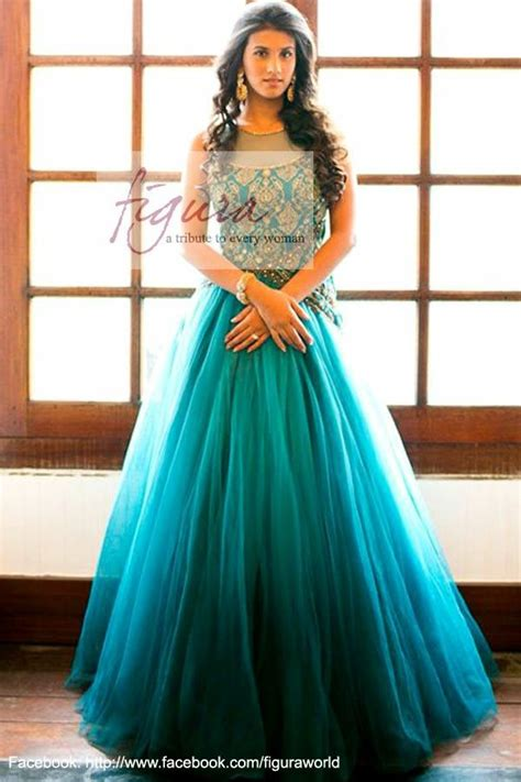 long indo western dress  wedding indian bridesmaid