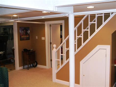 Cute Basement Stairs : Space Ideas Basement Stairs