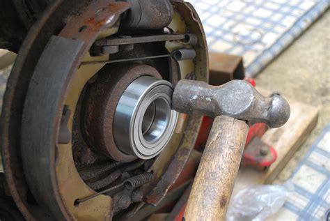 replace  wheel bearing   freelander land