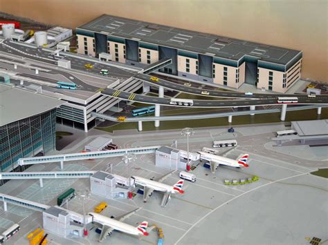 044400 Lhr 'add Buildings'  No Point Airport Diorama