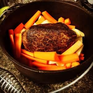 roast in oven dutch oven pot roast savage taste