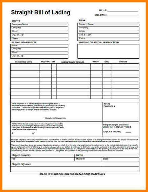 billing information template sample travel bill