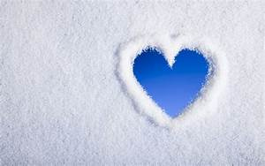 Snow Heart, HD Love, 4k Wallpapers, Images, Backgrounds ...