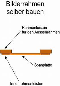Bilderrahmen Für Keilrahmen Selber Machen : bilderrahmen selber bauen anleitung ~ A.2002-acura-tl-radio.info Haus und Dekorationen