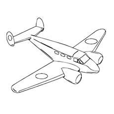 top  airplane coloring pages  toddler  love