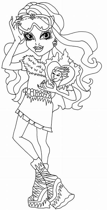 Coloring Pages Monster Class Abbey Printable Bominable