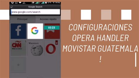 Opera browser brings you more speed, more discoveries and more safety. Configuración Opera mini apk Movistar GT 2020: 4g gratis