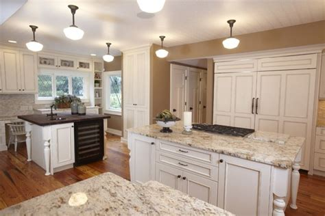 other than white cabinets like in this photo what other light color cabinets would go with this