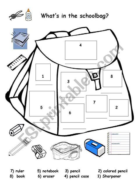 classroom items esl worksheet  im lety