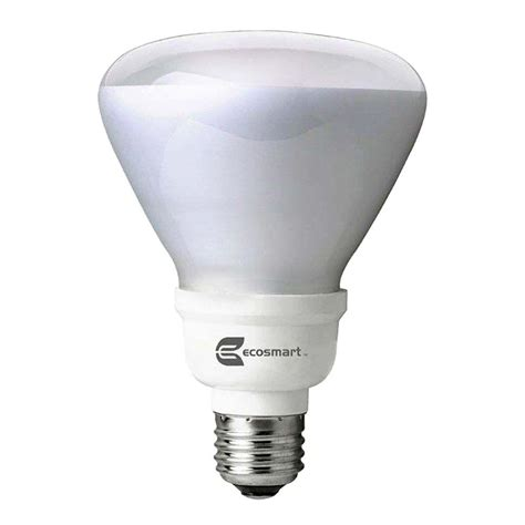 ecosmart 65w equivalent soft white br30 dimmable cfl light