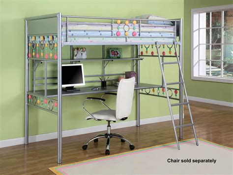 bunk beds with desk ikea whitevan