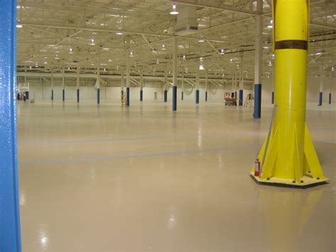 Polymer Flooring Systems For Industrial & Manufacturing