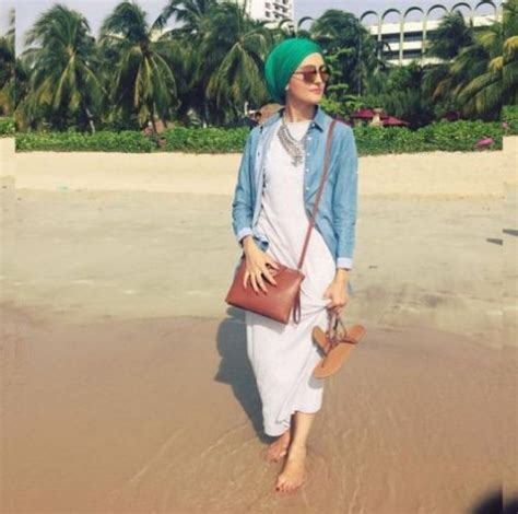 Hijab outfits for the beach u2013 Just Trendy Girls