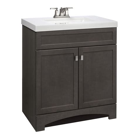 bathroom vanity with tops clearance 30 inch shop style selections drayden gray vanity with white