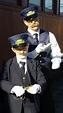 young man in train conductor uniform 1920's | Conductors ...