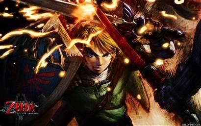 Zelda Link Legend Wallpapers Princess Twilight